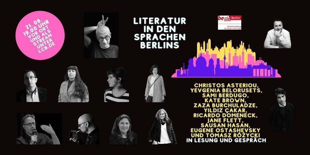 Tickets Literatur in den Sprachen Berlins , SIEHE PROGRAMMTEXT in Berlin